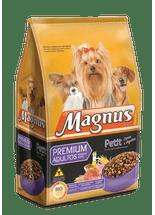 Racao-Magnus-Petit-Carne-e-Vegetais-para-Caes-Adultos-de-Racas-Pequenas----