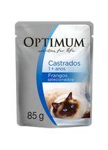 Racao-Umida-Optimum-Sache-Frango-para-Gatos-Adultos-Castrados