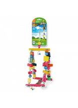 Brinquedo-Pet-InjetHappyBird-Balanco-Gangorra-para-Aves