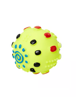 Brinquedo-Jolitex-Homepet-Bola-de-Vinil-Amarela-para-Caes