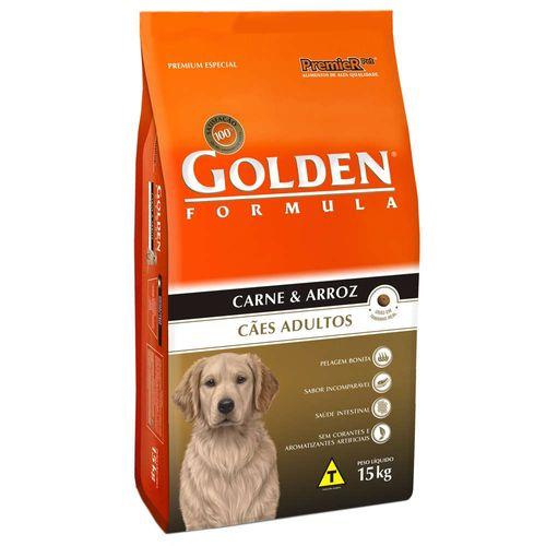 Racao-Golden-Premier-Pet-Caes-Adultos-Formula-Carne---Arroz-