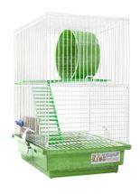 Gaiola-Braganca-Popular-2-Andares-para-Hamster-e-Gerbil---Verde