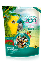 Alimento-Mega-Zoo-Mix-Tropical-Light-para-Papagaios