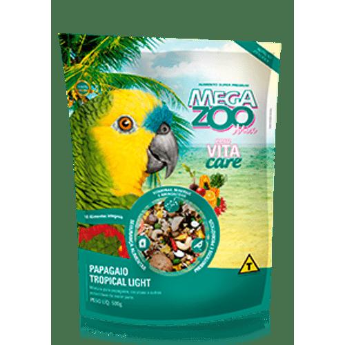 Alimento-Mega-Zoo-Mix-Tropical-Light-para-Papagaios