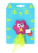 Brinquedo-Duki-Monster-Estrela-com-Catnip-para-Gatos
