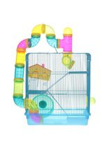 Gaiola-American-Pets-Hamster-3-andares-com-Labirinto-para-Roedores