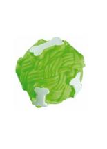 Brinquedo-Jolitex-Homepet-Bola-Ossos-de-Vinil-Verde-para-Caes
