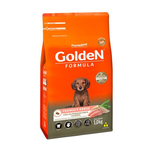 Racao-Golden-Premier-Pet-Caes-Filhotes-Formula-Mini-Bits-Frango-1kg