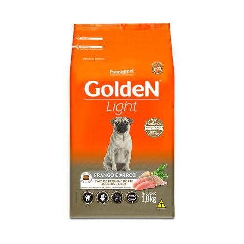 Racao-Golden-Premier-Pet-Caes-Light-Formula-Mini-Bits-