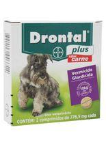 Drontal_Plus_Sabor_Carne_Caes_10_Kg_-_2_Comprimidos