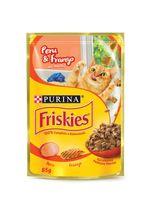 Racao_Umida_Nestle_Purina_Friskies_Peru_Frango_ao_molho_para_Gatos_Adultos