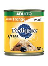 racao-umida-pedigree_vital_lata_Pate_frango_280gr
