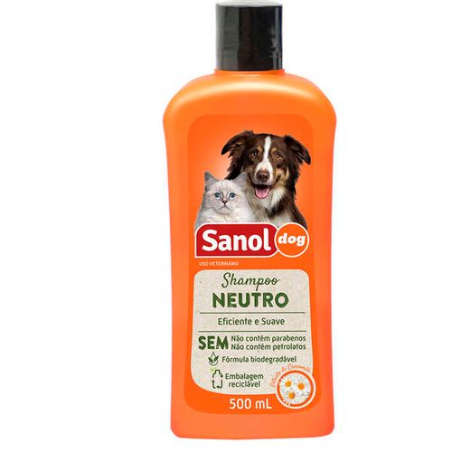 Shampoo_Sanol_Dog_Neutro_-_500_mL