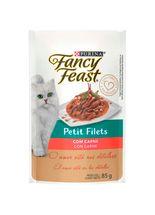 Racao_Umida_Nestle_Purina_Fancy_Feast_Sache_Petit_Filets_com_Carne_para_Gatos_Adultos